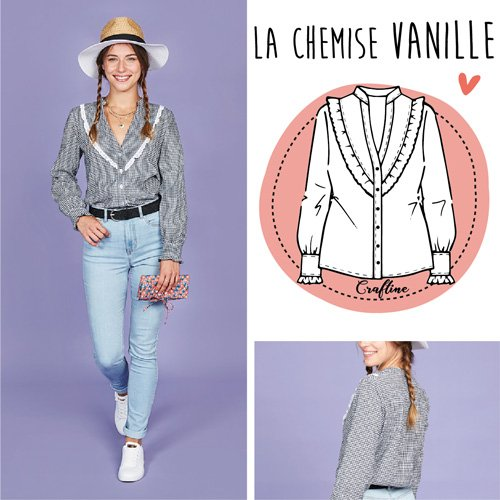 La chemise Vanille